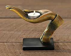 Open Hand Blessings Tealight Candle Holder - Overstock™ Shopping - Great Deals on Candles & Holders Candle Holder Decor, Tealight Candle Holders, Candleholders, Tea Light Candles, Tea Lights, Peacock Wall Art, Hand Pose, Open Hands, Hand Shapes