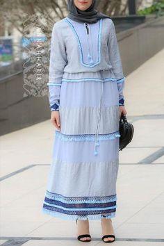 Minsk Modest Dress Modest Wear, Modest Dresses, Modest Outfits, Modest Fashion, Hijab Fashion, Fashion Outfits, Womens Fashion, Hijab Dress, Hijab Outfit