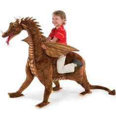 Rocking Horses are so passe now. Get yourself a dragon!