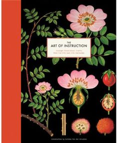 Black background botanical prints book--Deb, we need to find a wall for this at your place!