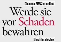 Neues Lesefutter für kritische Geister: ZIMS 3 ist online!  #zimszeitschrift #multiplesklerose #lebenmitms #machteuchschlau