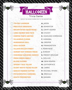 halloween jeopardy digital trivia game party