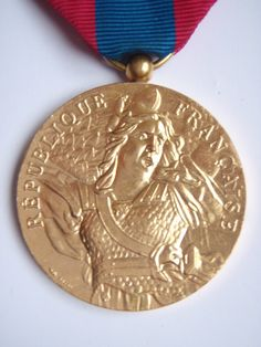 French Foreign Legion Medal with 3 Bars