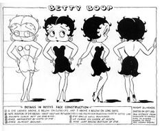 how to draw betty boop step by step video
