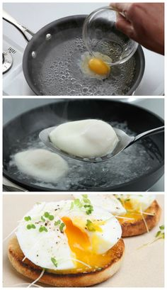 Learn how to poach eggs in just 15 minutes!  I want to make eggs benedict for breakfast.  That's my goal :)