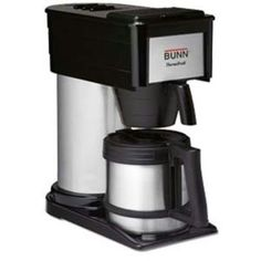 Bunn-O-Matic Home Thermal Carafe Coffee Maker One Cup Coffee Maker, Thermal Coffee Maker, Best Drip Coffee Maker, Coffee Making Machine, Coffee Maker Reviews, Coffee Brewer, Coffee Machine, Coffee Uses, Great Coffee