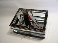 Tango Couple Crystal Box by jbls on Etsy, $105.00
