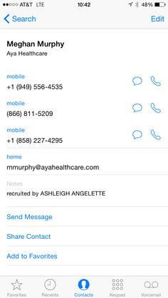 """Travel nursing referral - AYA Healthcare; use referral name """"Ashleigh Angelette""""  Meghan Murphy is an AMAZING recruiter and truly helps you with all your needs and wants!"""