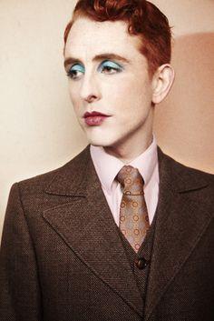 Great idea! Men make-up! Alexander by Cezary Zacharew