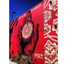 Obey giant street art