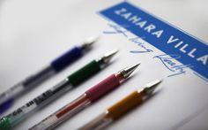 Zahara Villas unused logo proposal.