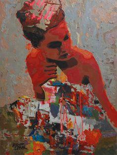 Hossam Dirar - Oil on Canvas Egyptian Artwork, Image Overlay, American Graffiti, Street Artists, Artist Painting, Contemporary Artists, Painting Inspiration, Oil On Canvas, Art Gallery