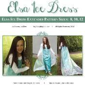 Elsa Ice Dress PDF Extended Pattern - via @Craftsy