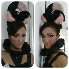 Fashion make up, by me,  Hair Ribka monangin,  Model Victoria wicaksono