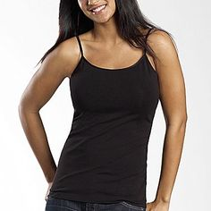 a.n.a® Cami - jcpenney - I love these tanks. they are long and don't have a built in shelf bra. I hate those, and since nearly every maternity shirt I own requires an undershirt I will be needing new ones in black and white.