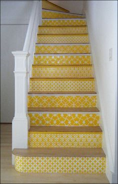 Lots of fun for stairs. Perhaps a different color. :)