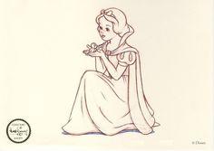 snow white sketch♡
