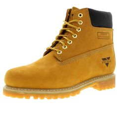 "$49.99 Vikings - Men's 6"" Classic Water Resistant Nubuck Work Boot - FREE SHIPPING"