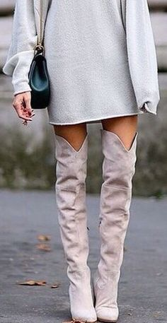 #winter #fashion / gray + gray