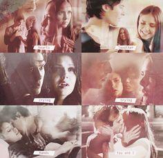It's love. Delena. The Vampire Diaries. ♥