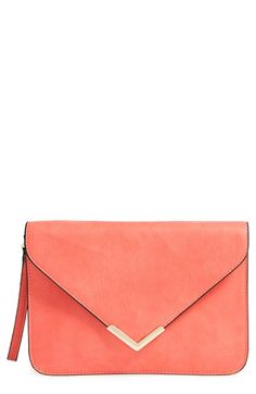Dolce Girl Flap Clutch available at #Nordstrom