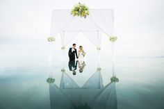Charlotte & Weijern's wedding photo at Le Meridien Koh Samui Resort & Spa Thailand..