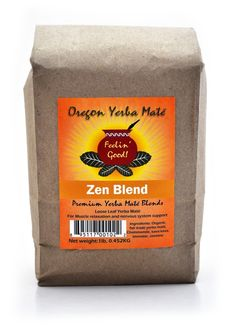 The Zen Blend Organic Yerba Mate, Loose Leaf is a calming blend for the nervous system consisting of Yerba Mate, lavender, chamomile, jasmine and kava kava.