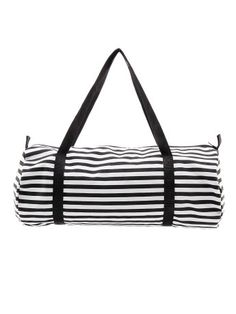 striped gym bags from American Apparel