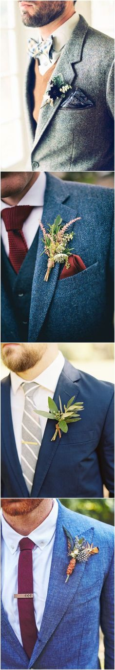 18 Modern Groom's Attire Details to Rock!