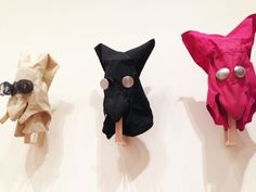 **Professional Artist Parallel: Lygia Clark's sensorial masks from the 1960's