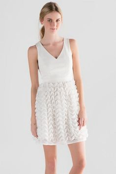The Daniella Ruffle Dress is perfect for any spring event from Easter to bridal showers!