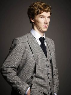 With added waistcoat action. | 25 Things That Prove Benedict Cumberbatch Is The Perfect Man