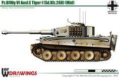 Sd.Kfz.268 Pz.BfWg VI Ausf.E Tiger (late production model)