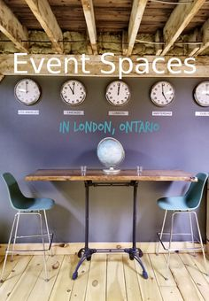Unique and cool event spaces in London, Ontario for parties, meetings, poker nights, pop up shops, weddings, fashion shows, Christmas work do. Poker Night, Stuff To Do, Cool Stuff, Things To Do In London, Pop Up Shops, Ontario, Entryway Tables, Parties, Spaces