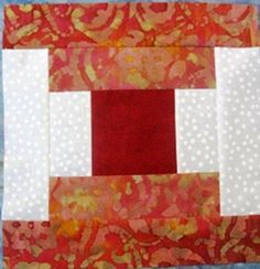 Courthouse Steps Quilt Block