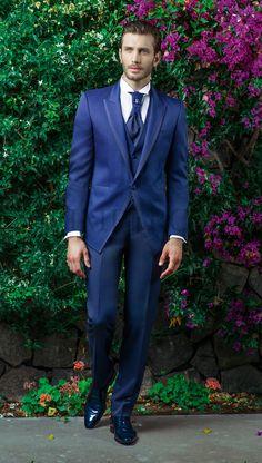 MAS 3024 #sposo #groom #suit #abito #wedding #matrimonio #nozze #blu #blue