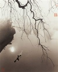 River with Branch