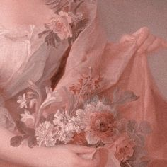 Peaches And Bouquets Peach Aesthetic, Angel Aesthetic, Aesthetic Colors, Flower Aesthetic, Aesthetic Vintage, Aesthetic Art, Aesthetic Pastel Wallpaper, Aesthetic Backgrounds, Aesthetic Wallpapers