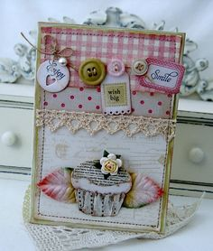 tiny tags~beautiful card!