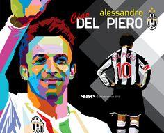 Del Piero wpap by difrats #art #popart #tracing #delpiero #wpap #vector
