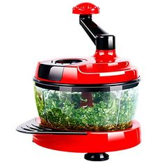 Charmant Red Hand Held Salad Chopper