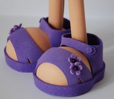 Doll Shoe Patterns, Foams Shoes, Biscuit, Polymer Clay Dolls, Bindi, Jewelry Stand, Foam Crafts, Doll Shoes, Soft Dolls