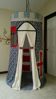 Kid Tent The Chateau by suitedreamcreators on Etsy
