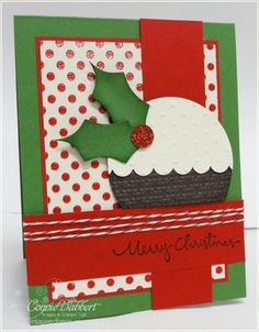 Holiday punch art card