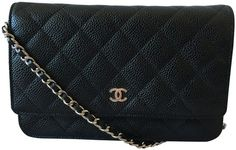 c3612edd6aa Get the trendiest Clutch of the season! The Chanel Clutch New Caviar with  Chain Black Leather Clutch is a top 10 member favorite on Tradesy.