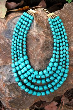 Turquoise is beautiful, but I just don't have any. Would love to! This necklace seems like it would go with anything.