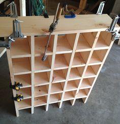 Custom cubbie storage