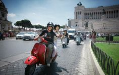 When in Rome - Hop on a Vespa! | Guided tour in Rome | Select Italy
