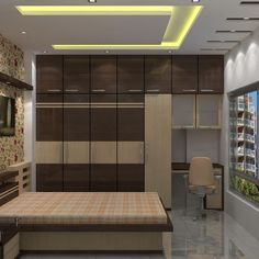 Top Choices of False Ceiling Design for Bedroom Modern Interiors - eclarehome Wardrobe Design Bedroom, Bedroom Furniture Design, Ceiling Design Living Room, Bedroom Closet Design, Bedroom Cupboard Designs, Cupboard Design, Bedroom False Ceiling Design, Wardrobe Door Designs, Ceiling Design Bedroom