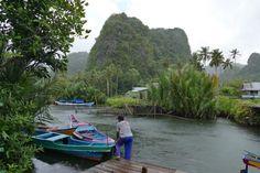 Makassar, Rammang-Rammang-Tal, kurze Unterbrechung
